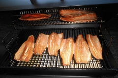 Hot Smoked Trout!