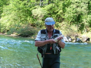 Fly Fishing Austria - fish caught